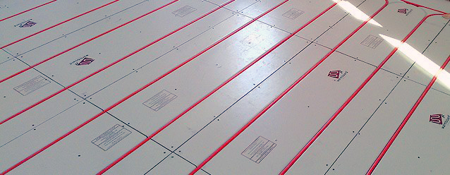 We proudly work with warmboard for Warmboard manifold