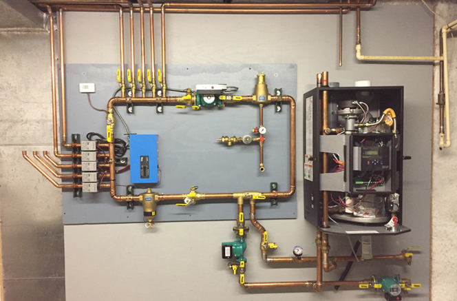 21 Year Old Infloor Heating System