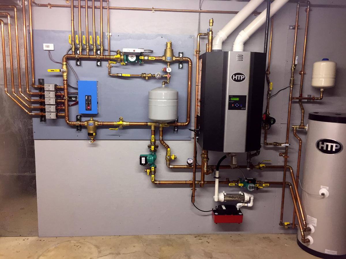 21 Year Old Infloor Heating System Receives New Mechanical