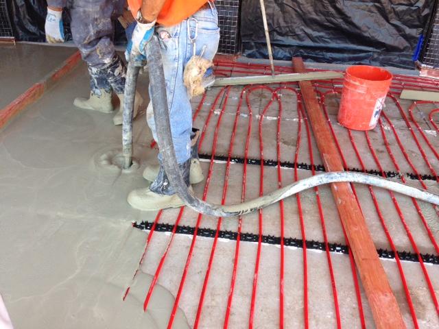 Therma Floor Gypcrete Installation Method
